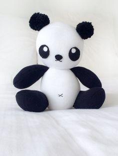 sock panda softie