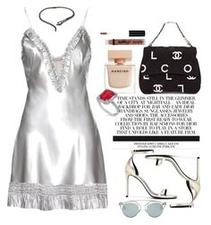 """""""Gimmie Him"""" by vri0t ❤ liked on Polyvore featuring Alexander McQueen, Christian Dior, Yves Saint Laurent, Kenneth Jay Lane, Narciso Rodriguez, Allurez, Chanel and NYX"""