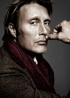 Mads Mikkelsen. So fine....he has just enough stubble here that I will accept it for the beard board