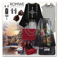 """""""www.romwe.com-XI-3"""" by ane-twist ❤ liked on Polyvore featuring women's clothing, women, female, woman, misses and juniors"""
