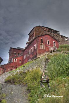 Alaskan abandoned copper mine (Kennicott, near McCarthy)