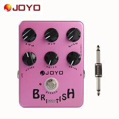 39.99$  Watch now - http://alibty.shopchina.info/go.php?t=32734853712 - JOYO JF-16 British Sound True Bypass Design Effect Pedal for Guitar +Pedal Connector Electric Guitar Accessories  #magazineonline