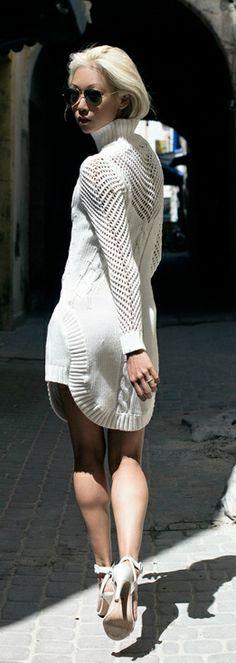 Knit Dress - The Haute Pursuit