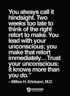 milton erickson hypnosis quotes