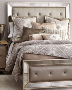 -6D1V Dian Austin Couture Home  King Paisley Parquet Duvet Cover Queen Paisley Parquet Duvet Cover King Houndstooth Check Coverlet
