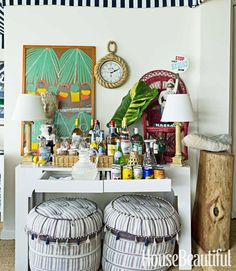 Mix and Chic: Home tour- A fresh and beautiful preppy home in the Bahamas!