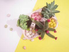 DIY mini garden easter by Moma