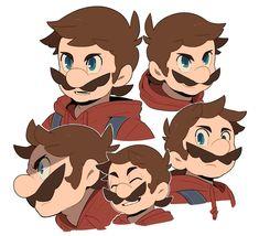 Super Mario Brothers, Super Mario Bros, Mundo Super Mario, Super Smash Bros, Nintendo Game, Nintendo World, Instructions Lego, Mario Fan Art, Art Hama