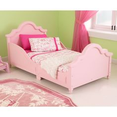 Kidkraft Raleigh Toddler Bed Pink -  169  hayneedle Girls Bedroom 14361fa8be503