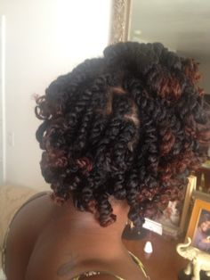 two strand twist #naturalhair #inhmd 5.18.13 @naturalhairinhmd