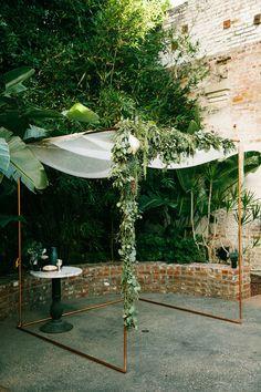 Modern wedding at Millwick | Los Angeles wedding | 100 Layer Cake