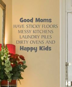 Slate 'Good Moms' Wall Quote