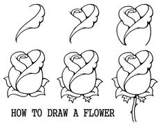 Collection of thousands of free Rose Drawing Page from all over the world.