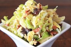 Clean Eating Crunchy Apple and Cabbage Salad
