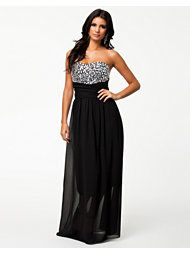 JEWEL BUSTIER MAXI DRESS 64,95 €