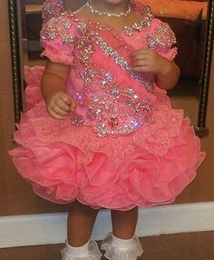 glitz pageant dress Toddler Pageant Dresses, Glitz Pageant Dresses, Pagent Dresses, Little Girl Pageant Dresses, Pageant Wear, Pageant Girls, Girls Dress Up, Uae, Pretty
