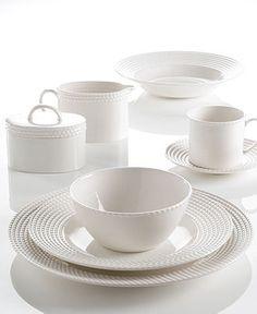 kate spade new york Dinnerware, Wickford Dinnerware Collection - White Dinnerware - Dining & Entertaining - Macy's