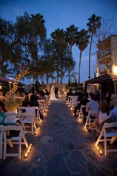 The Belamar Hotel Night Beach Weddingsbeach