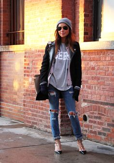 68 Best ideas for how to wear converse with jeans high tops sincerely jules Star Fashion, Look Fashion, Autumn Fashion, Jeans Fashion, Street Fashion, Casual Outfits, Cute Outfits, Jeans Boyfriend, Boyfriend Style