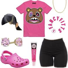 Cute Lazy Outfits, Baddie Outfits Casual, Swag Outfits For Girls, Cute Outfits For School, Teenage Girl Outfits, Cute Swag Outfits, Chill Outfits, Teenager Outfits, Dope Outfits