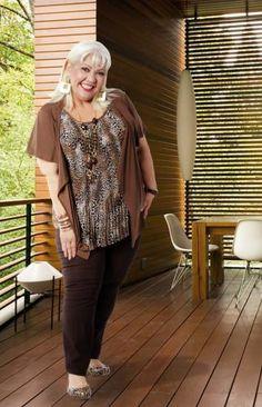 La gorda Fabiola moda talla grande