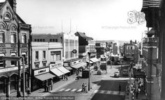 Photo of Watford, High Street from The Francis Frith Collection Scotland History, St Albans, Watford, Vintage London, Town Hall, Old Houses, Kansas City, Times Square, Street View