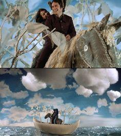 The Science of Sleep, Michel Gondry. Cinematography by Jean-Louis Bompoint Siamese Dream, Michel Gondry, Film Story, Light Film, Go To Movies, Film Inspiration, Landscape Illustration, Film Stills, Film Movie