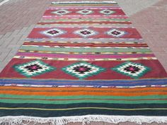 Anatolia-Turkish-Antalya-Kilim-67-7-x-129-5-Area-Rug-Carpet-Wool