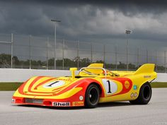 1972 Porsche 917 10 Can Am                                                            A very cool car.