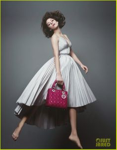 Marion Cotillard in the Lady Dior campaign