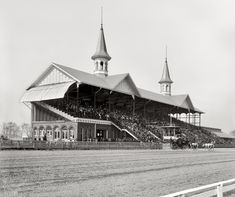 Churchill Downs - Derby Day, April 29, 1901
