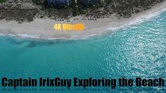 DJI Phantom 3 Captain IrixGuy Exploring the Beach