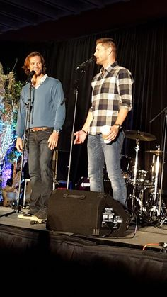 S11 will have exploding salt vests and bungee weapons. Just kidding #torcon @JensenAckles @jarpad