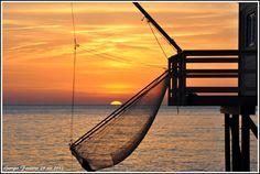 coucher de soleil à Saint Palais sur mer, plage du Platin https://maurtimer.wordpress.com/page/27/