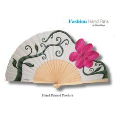 "Hand fan ""Spring"" by Fashion Hand Fans Designer: Silvia Ruso"