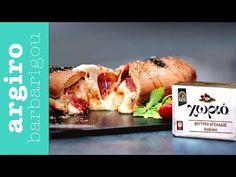 Τσιζκέικ (cheesecake) με σάλτσα βύσσινο από την Αργυρώ Μπαρμπαρίγου | Φτιάξτε το πιο εύκολο cheesecake χωρίς ψήσιμο σε 5'. Είναι γευστικό, με μοναδική υφή! Eat Greek, Dessert Recipes, Desserts, Casserole Recipes, Quiche, Seafood, Food And Drink, Sweets, Healthy Recipes