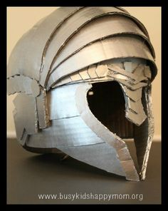 DIY Knight Helmet or Warrior Helmet