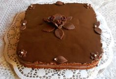 Fotorecept: Čokoládova torta bez múky