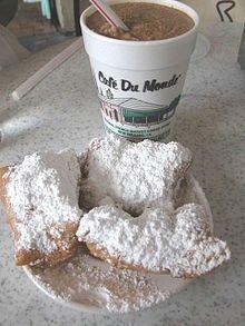 Cafe du Monde, French Quarter, New Orleans http://media-cache5.pinterest.com/upload/110338259590072712_dP2nK7An_f.jpg happyphantom161 vittles