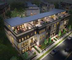 A rendering of the homes available at Next Level Homes at Upper West in Downtown One Loudon.