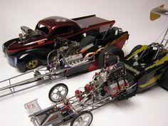 1 8 Scale Drag Car Models