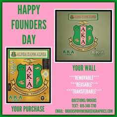 HAPPY FOUNDERS DAY TO THE LADIES OF ALPHA KAPPA ALPHA SORORITY, INC. RECEIVE 7 GRAPHICS IN 1 WHEN YOU PURCHASE YOUR DIVINE 9 GREEK GRAPHIC^^^! TO ORDER: TEXT: 615-348-7710 or EMAIL: ORDERS@DIVINE9GREEKGRAPHICS.COM...#1908 ‪#‎skeewee‬ ‪#‎alphakappaalpha‬ ‪#‎20pearls‬ ‪#‎j15‬ ‪#‎aka106‬ ‪#‎aka1908‬