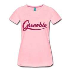 grenoble typo vintage, graphisme simple et éfficace pour une tee-shirt. Grenoble, Shirt Shop, Typo, Old School, Tee Shirts, Simple, Shopping, Vintage, Women