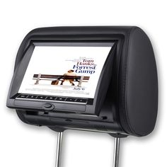 10 1 external headrest car multi media mp5 mp4 mp3 player fm 9 inch digital car headrest dvd player monitor built in speaker support usb sd games