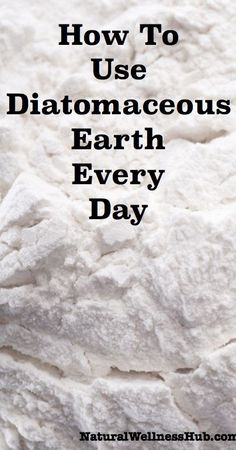 Natural Holistic Remedies How to Use Diatomaceous Earth Every Day—so many uses! - The definitive post on diatomaceous earth! Learn how to use diatomaceous earth for its health benefits and around your home and homestead. Herbal Remedies, Health Remedies, Home Remedies, Holistic Remedies, Lemon Benefits, Coconut Health Benefits, Natural Cures, Natural Healing, House Of Pain