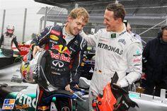 Sebastian Vettel, Michael Schumacher, Mercedes Grand Prix, Red Bull, 2012 Brazilian Formula 1 Grand Prix, Formula 1