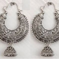 15 Best Oxidized Silver Jhumka Earrings Saskatoon Images Indian