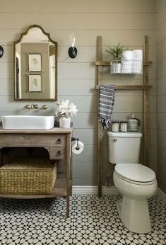 Fixer upper bathroom ideas easy rustic would totally approve of small home designer pro 2018 crack . fixer upper bathroom ideas home Bathroom Vanity, Bathroom Styling, Small Bathroom, Modern Bathroom, Cheap Bathrooms, Bathrooms Remodel, Small Remodel, Cheap Bathroom Storage, Bathroom Farmhouse Style