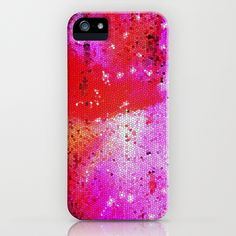 All That Glitters - Pink iPhone Case