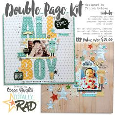 Double page kit by Tarrah McLean
